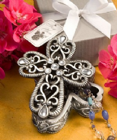 Cross Design Trinket Box